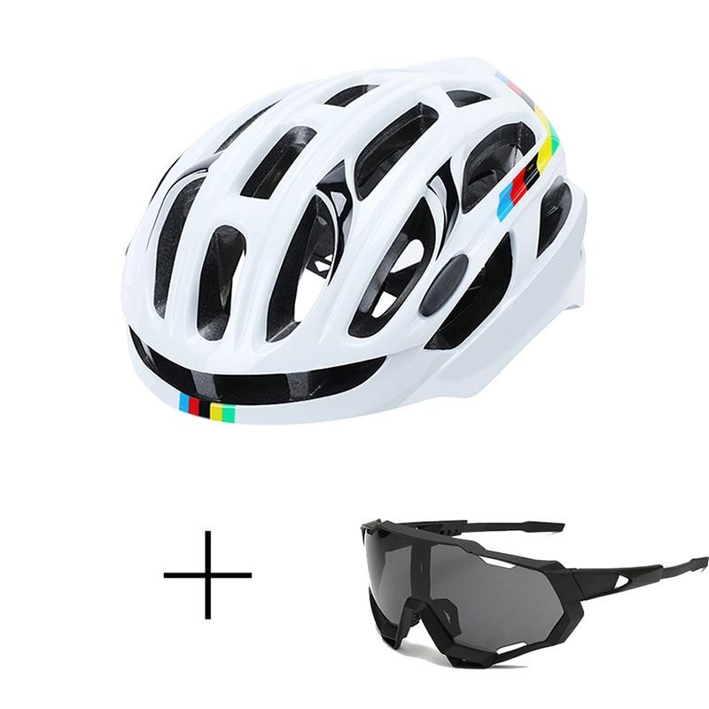 Шлем велосипедный дорожный унисекс, спортивный защитный шлем для горных велосипедов