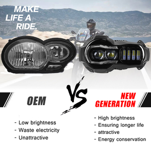 Image 2 - New Arrival!Motorcycle LED Headlights Projector for BMW R1200GS 2004 2012 R 1200GS ADV Adventure 2005 2013 Moto Lights Assembly