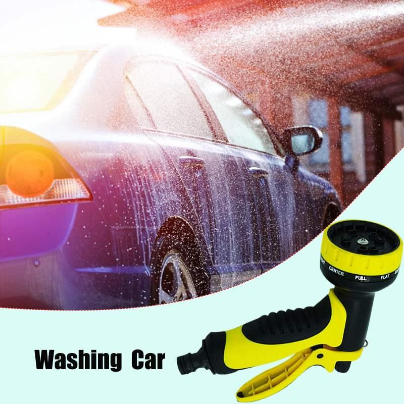 5 teile/satz Mutifunctional Garten Wasser Pistolen Haushalt Auto Waschen Hochdruck Spray Rasen Bewässerung Streuen Tools Kit mit 4 Düse