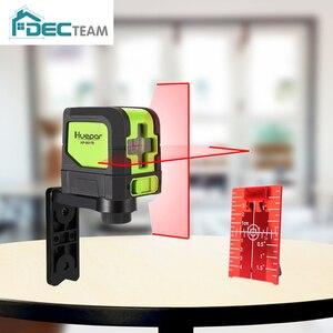 DEC TEAM Laser Level Red Beams Cross Lin