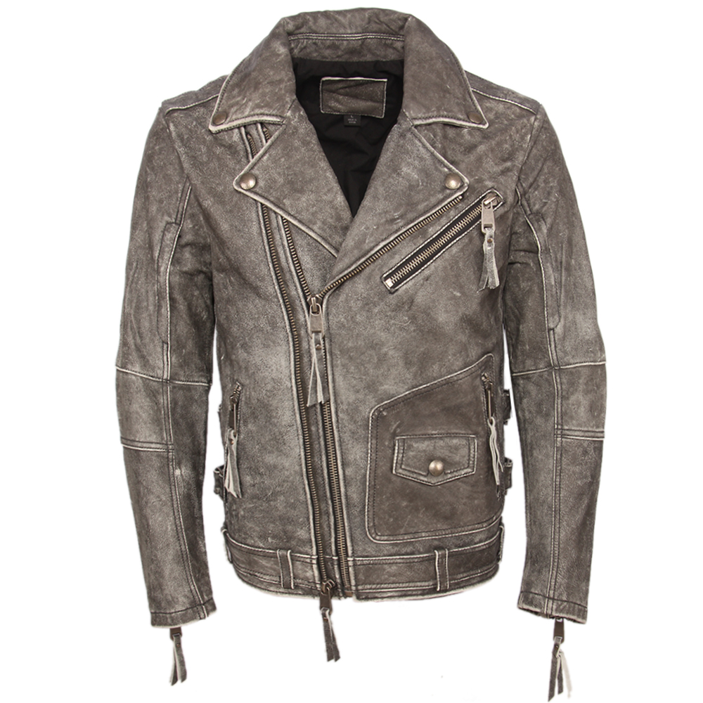 He9f93ffc976849b5ae3b796630cb7b49M Vintage Motorcycle Jacket Slim Fit Thick Men Leather Jacket 100% Cowhide Moto Biker Jacket Man Leather Coat Winter Warm M455