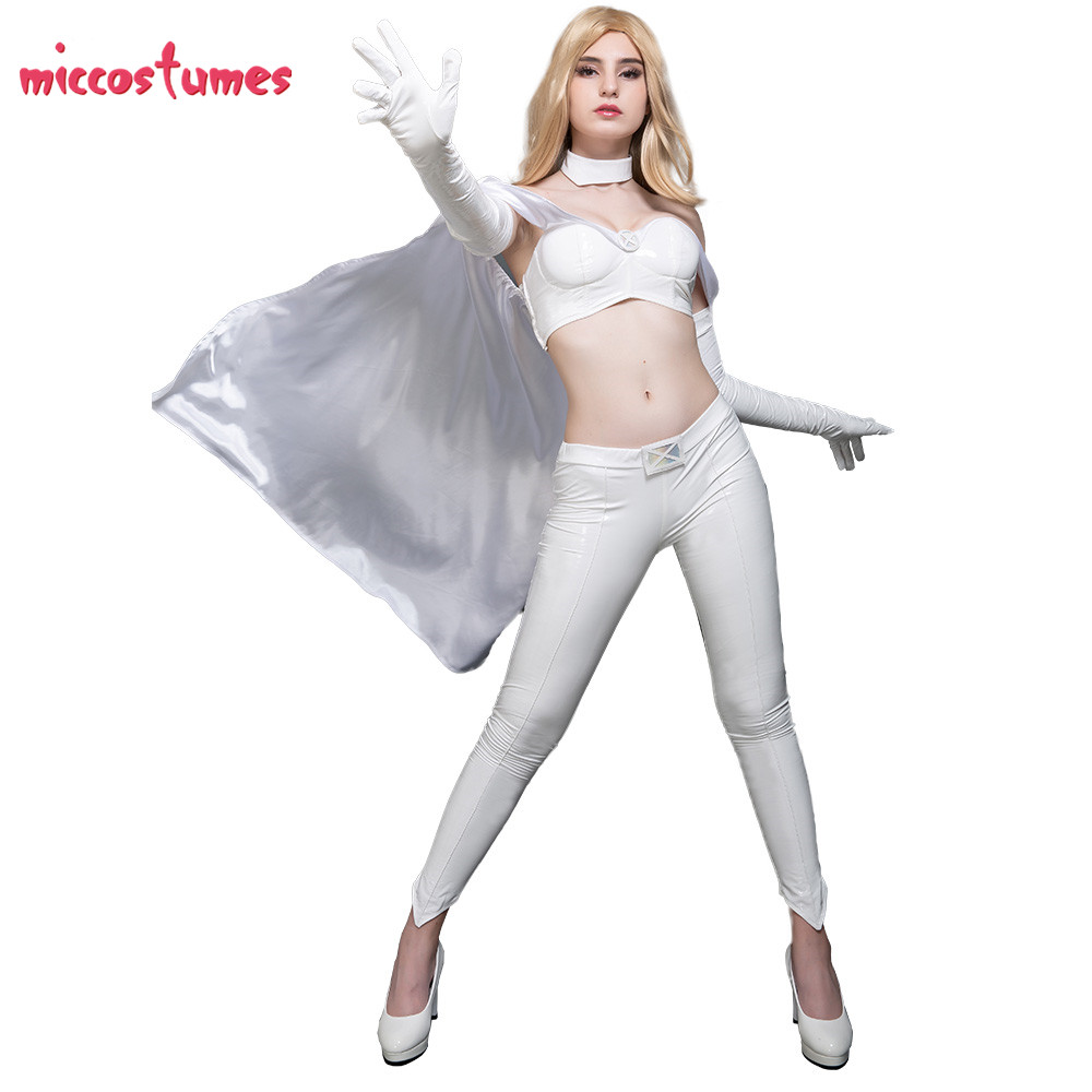 Emma Frost Costume White Queen Cosplay