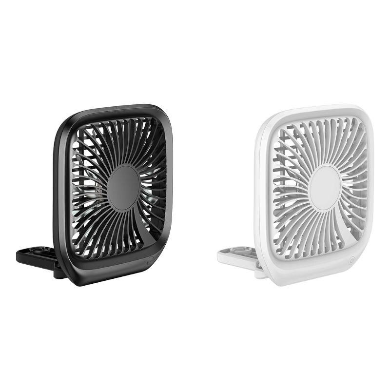 12V Mini Portable Adjusted Three-speed Wind Speed Car Seat Clip Fan