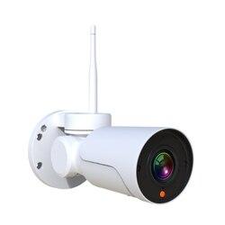 Full HD Mini Bullet Wifi kamera PTZ IP 2.0MP wodoodporny 4x Zoom o zmiennej ogniskowej Pan Tilt bezprzewodowy czujnik podczerwieni CamHi kamera WIFI na świeżym powietrzu