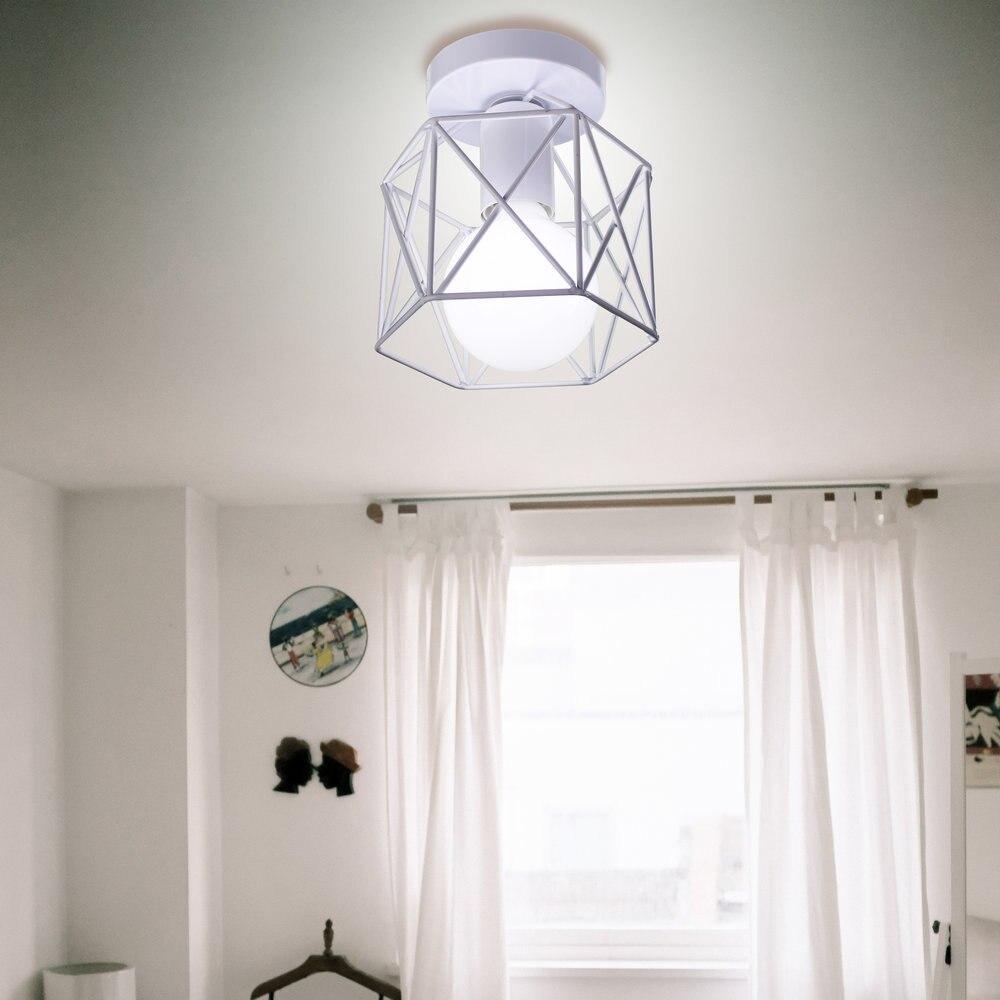 Bedroom Ceiling Lamp LED Modern Minimalist Living Room Lights Iron Art Corridor Aisle Lights Cloak Room Balcony Lighting Wholesa