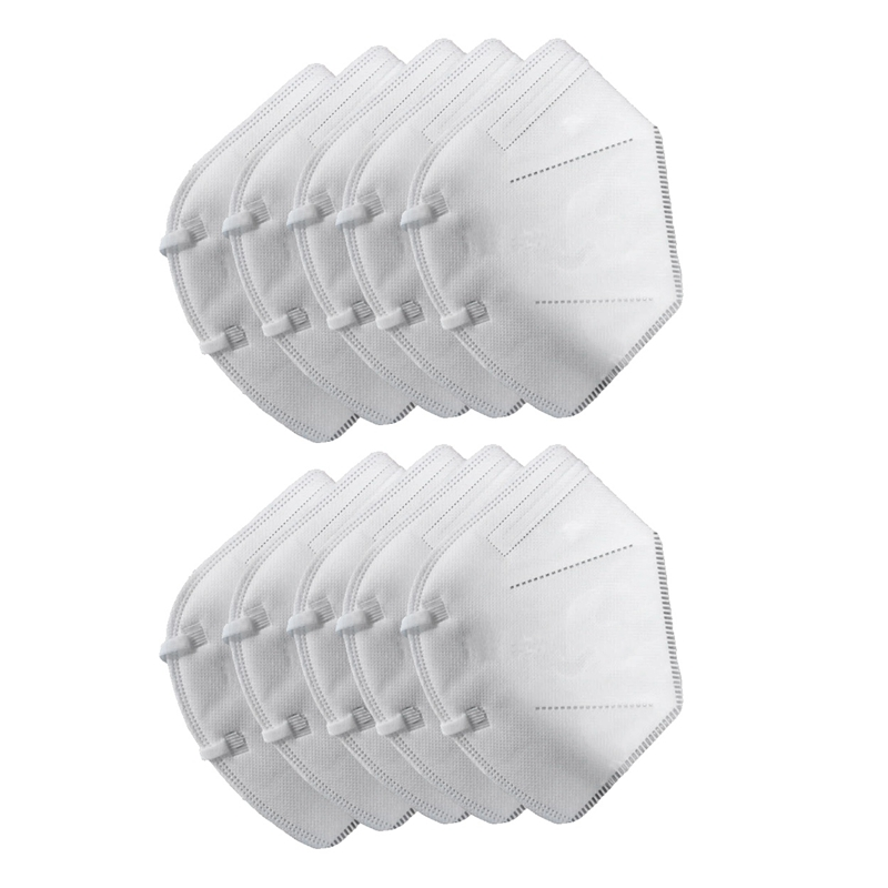 10PCS/Pack Mask Anti Haze Dust Mask Nose Filter Windproof Face Non-Woven Mask