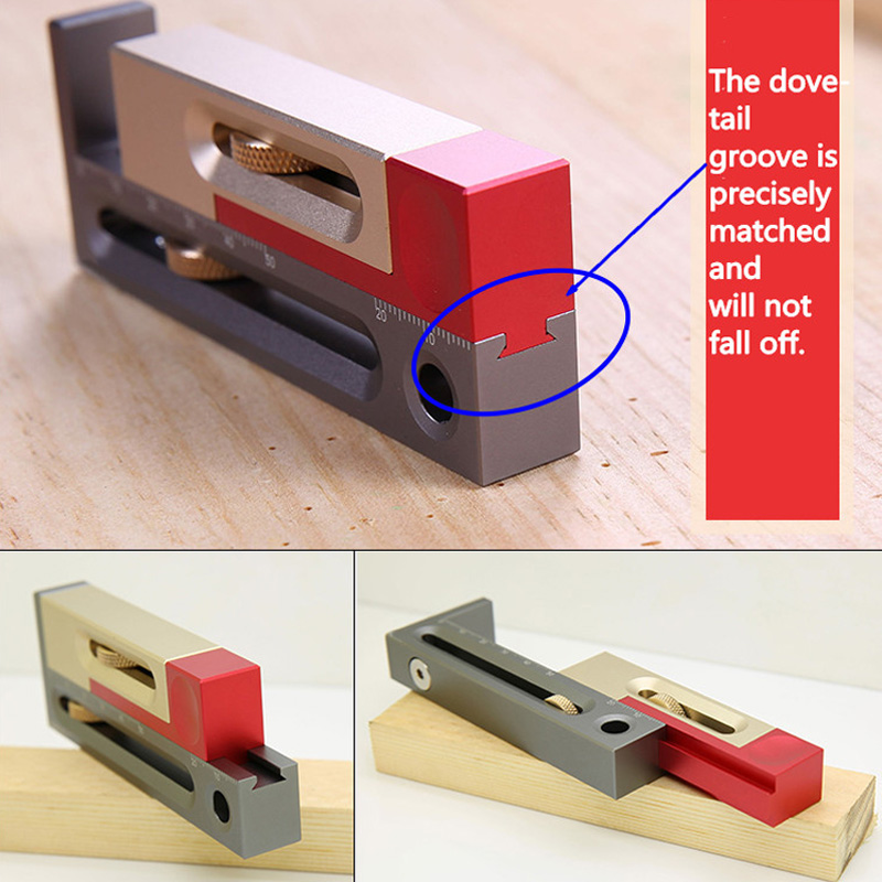 Woodworking Tables Measuring Blocks Tables Saw Slot Adjuster Mortise And Tenon Tool SNO88