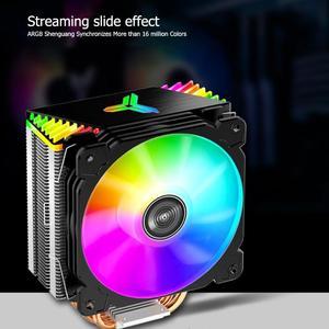 Image 2 - Jonsbo CR1000GT 4 Ống Nhiệt Argb Tháp Để Bàn Quạt Tản Nhiệt CPU Cho Intel/AMD Làm Mát Máy Tính Các Thành Phần Hệ Thống