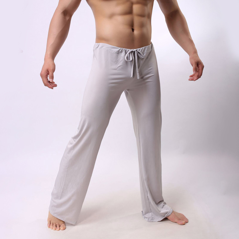 Men's Home Wear Trousers Loose Casual Sexy Pajamas Long Breathable Fashion Pants