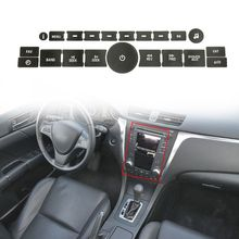AC Climate Control Button Repair Stickers Car Air Condition Decals For