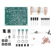 항공 라디오 수신기 Airband 라디오 수신기 키트 DIY 키트 12V 전원 PCB 보드 VHF 안테나 수신기 고감도 118 136MHz