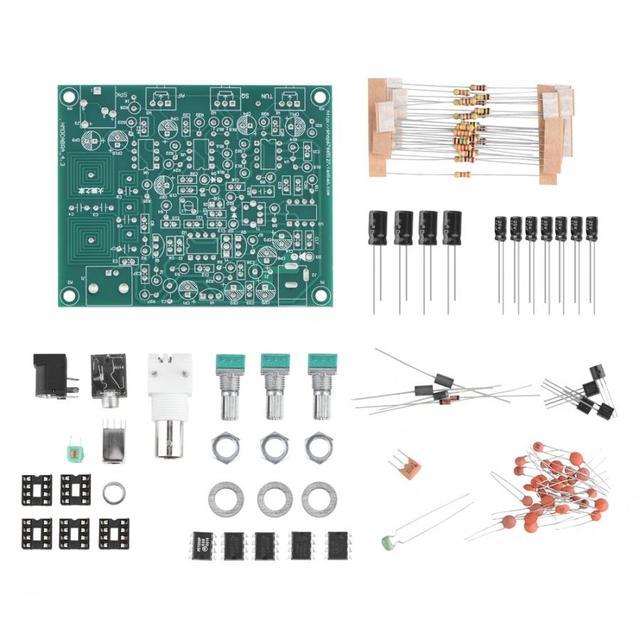 Kit receptor de Radio con banda aérea, Kit receptor de Radio DIY, placa de alimentación PCB de 12V, receptor de Antena VHF de alta sensibilidad 118 136MHz