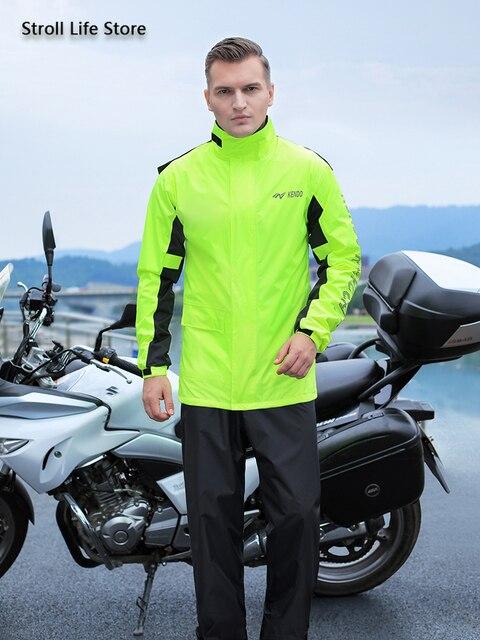 Adults Nylon Motorcycle Raincoat Outdoor Riding Men and Women Full Body Waterproof Poncho Rain Jacket Partner Capa De Chuva Gift