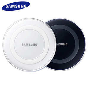 Original Samsung QI Wireless Charger Adapter Charge Pad For Galaxy S6 S7 Edge S8 S9 S10 Plus Note 5 For iPhone 11 Pro XR XS Max(China)