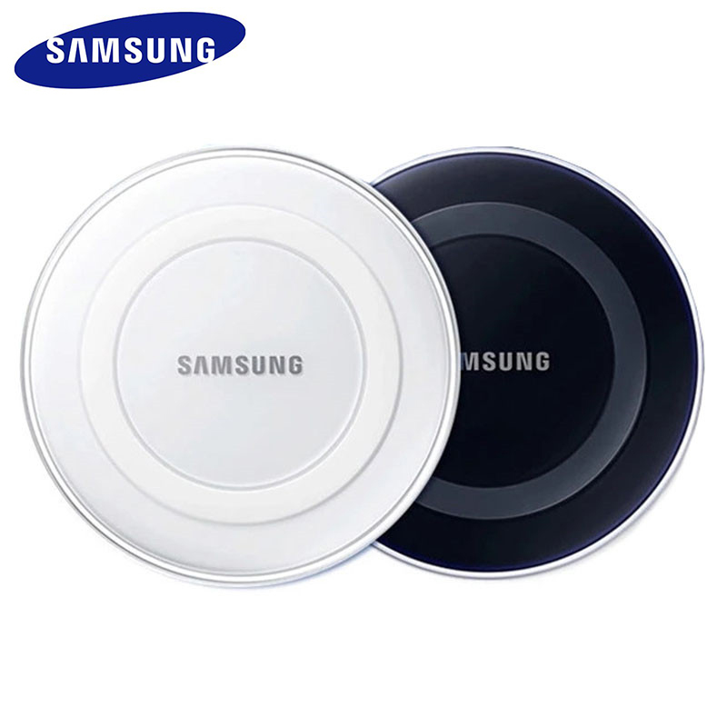 Original Samsung QI Wireless <font><b>Charger</b></font> Adapter Charge Pad For <font><b>Galaxy</b></font> S6 S7 Edge S8 <font><b>S9</b></font> S10 Plus Note 5 For iPhone 11 Pro XR XS Max image