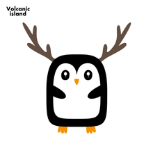 13cm x 12.5cm For Christmas Penguin Novelty Decal Car Assessoires VAN Decoration Digitally Printed Creative Stickers(China)