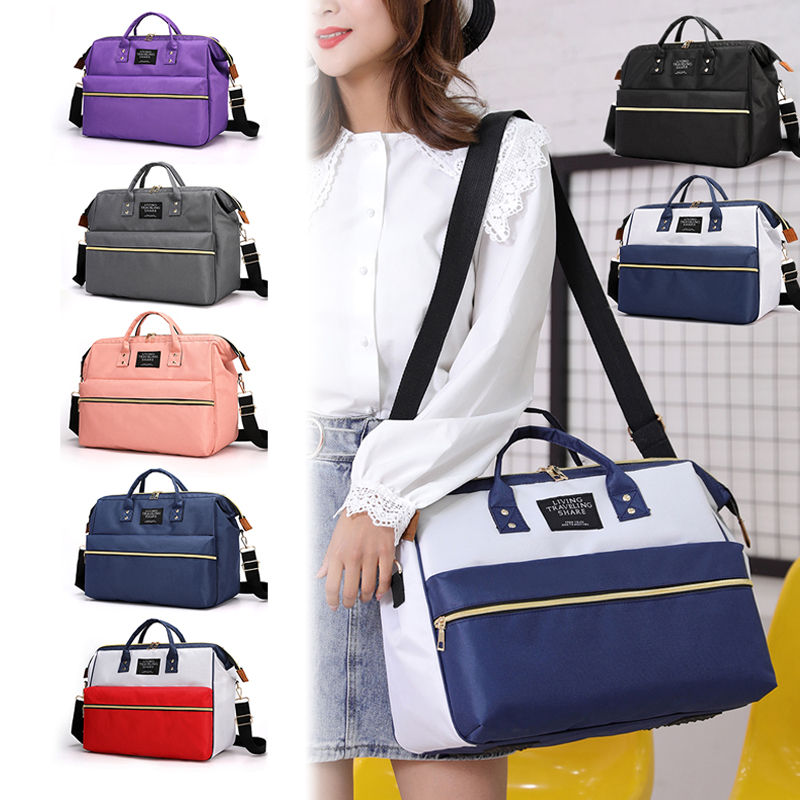 Nappy Bag Mummy Large Capacity Bag Mom Baby Multi-function Waterproof Outdoor Travel Diaper Bags Stroller Mommy Maternity Totes