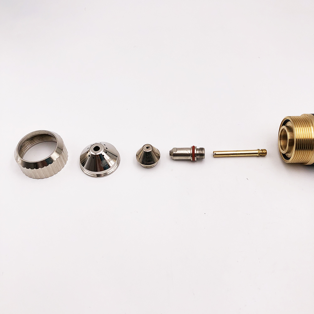 Tools : FY-XF300H FY-XF300 XF-300 torch consumables 50 pieces 300100 Electrode and 50 pieces 300150 nozzle 1 5mm