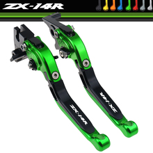 For Kawasaki ZX14R ZX 14R 2006 2007 2008 2009 2010 2011 2012 2013 2014 2016 CNC Motorcycle Brake Clutch Lever Folding Extendable