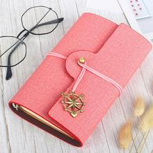 Retro 80 A6 paper tape wrapped pine leaf notebook diary book notebook travel girl notebook business gift box set? ?????????