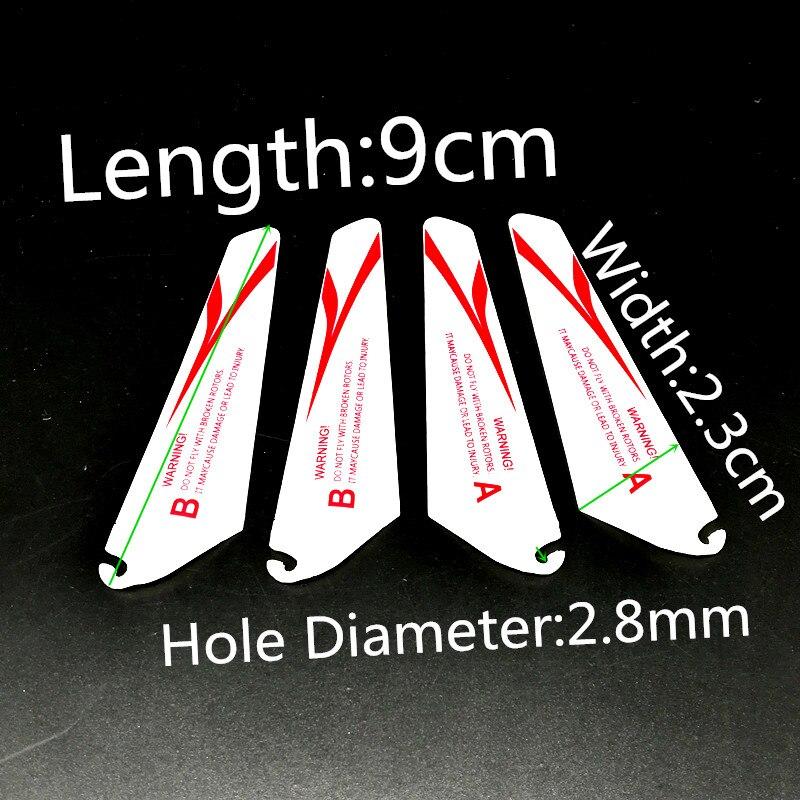 9 ซม.7 ซม.ใบมีด Props ไฟฟ้าบิน RC Sensor เฮลิคอปเตอร์ CH023 CH002 อินฟราเรดเหนี่ยวนำเครื่องบิน Mini Hand- ควบคุมของเล่...