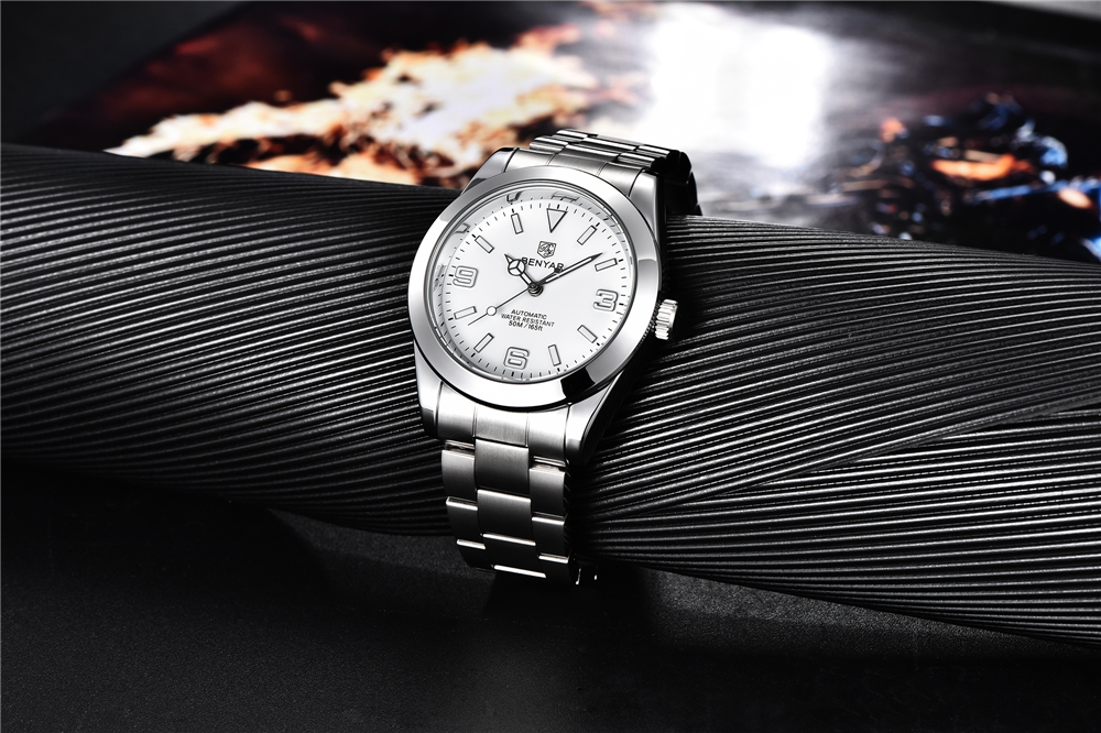 inoxidável relógios de pulso à prova dwaterproof