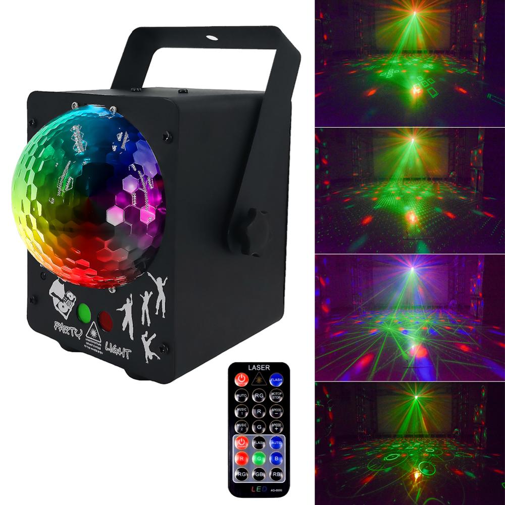 Sound Disco Laser Light RGB Projector Party Lights DJ Lighting Effect For Sale LED For Home Wedding Decoration UK/US/EU/AU Plug