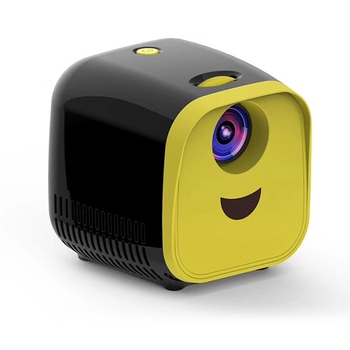 L1 New Mini Projector WIFI USB Children Portable Projector 1000 Lumens Mini Video Projector 320X240P Suitable for Families with