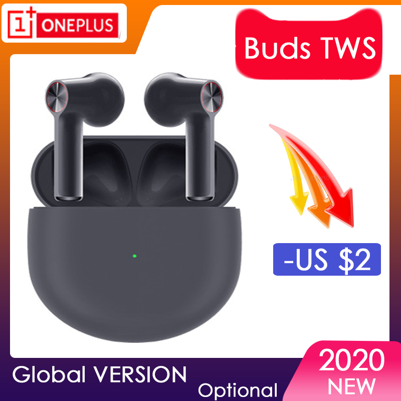 Оригинальные беспроводные наушники OnePlus Buds TWS Z IPX4, беспроводные Bluetooth 5,0 для OnePlus 6/6T/7/7 Pro/7T/7T Pro/8/8 Pro/Nord