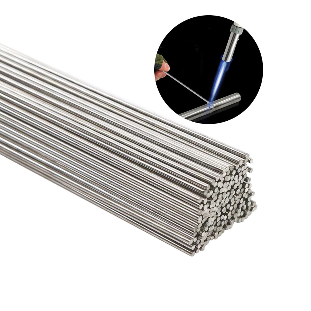 10/20/30/50PCS 50cm Welding Wire Refrigerator Air Conditioning Copper Tube Welding Phosphor Copper Welding Rod Flat Wire