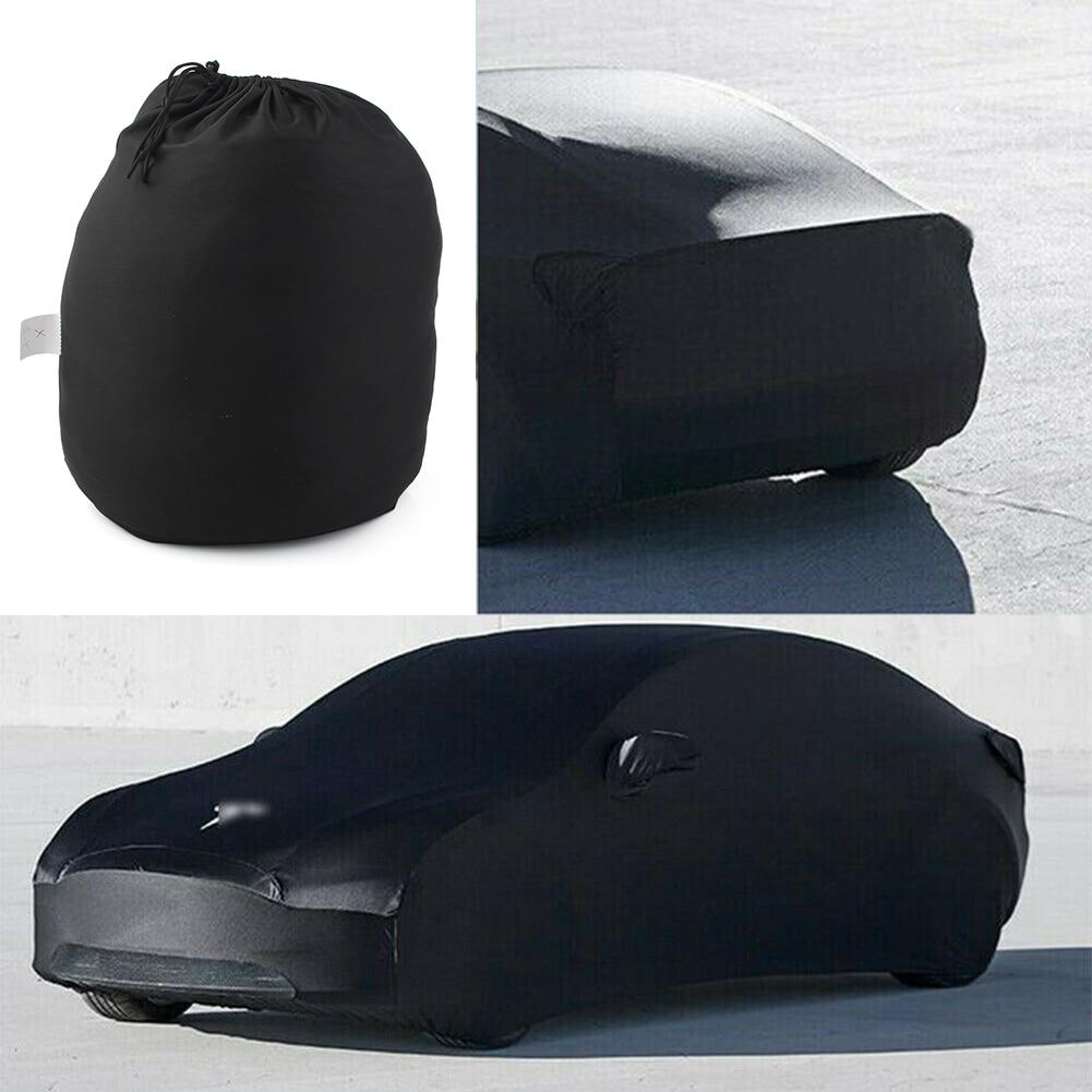 Protector de Exterior cubierta de coche completa polvo sol rayos UV cubierta de sombra accesorios de Exterior para automóvil protección para Tesla modelo 3 X S