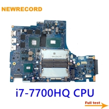 CPU Laptop Motherboard Legion Lenovo Y520 I7-7700hq Gtx 1050ti NM-B191 DY512 NEWRECORD