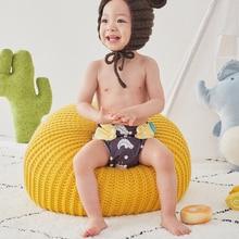 Reusable Baby Nappy Diaper-Cover Pocket-Diaper New-Print Hot-Sale OS 4pcs/Set