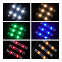 BriksMax Led Light Accessories For DIY 3 PCS/Pack Colorful Strip Lights With Adhesive Compatible With Building Blocks  1