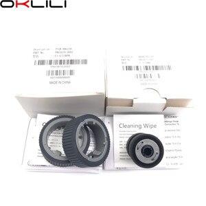 Image 5 - 1SET PA03670 0001 PA03670 0002 Consumable Kit Pick Roller Brake Roller Pickup Roller for Fujitsu fi 7160 fi 7260 fi 7180 fi 7280