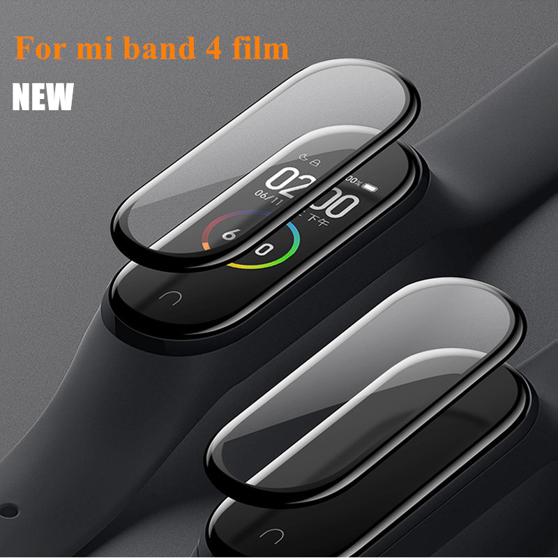 Protective Film For Mi Band 4 Strap Film (Not Tempered Glass)  Explosion-proof/scratch-resistant Miband Protector Mi Band 4 Film