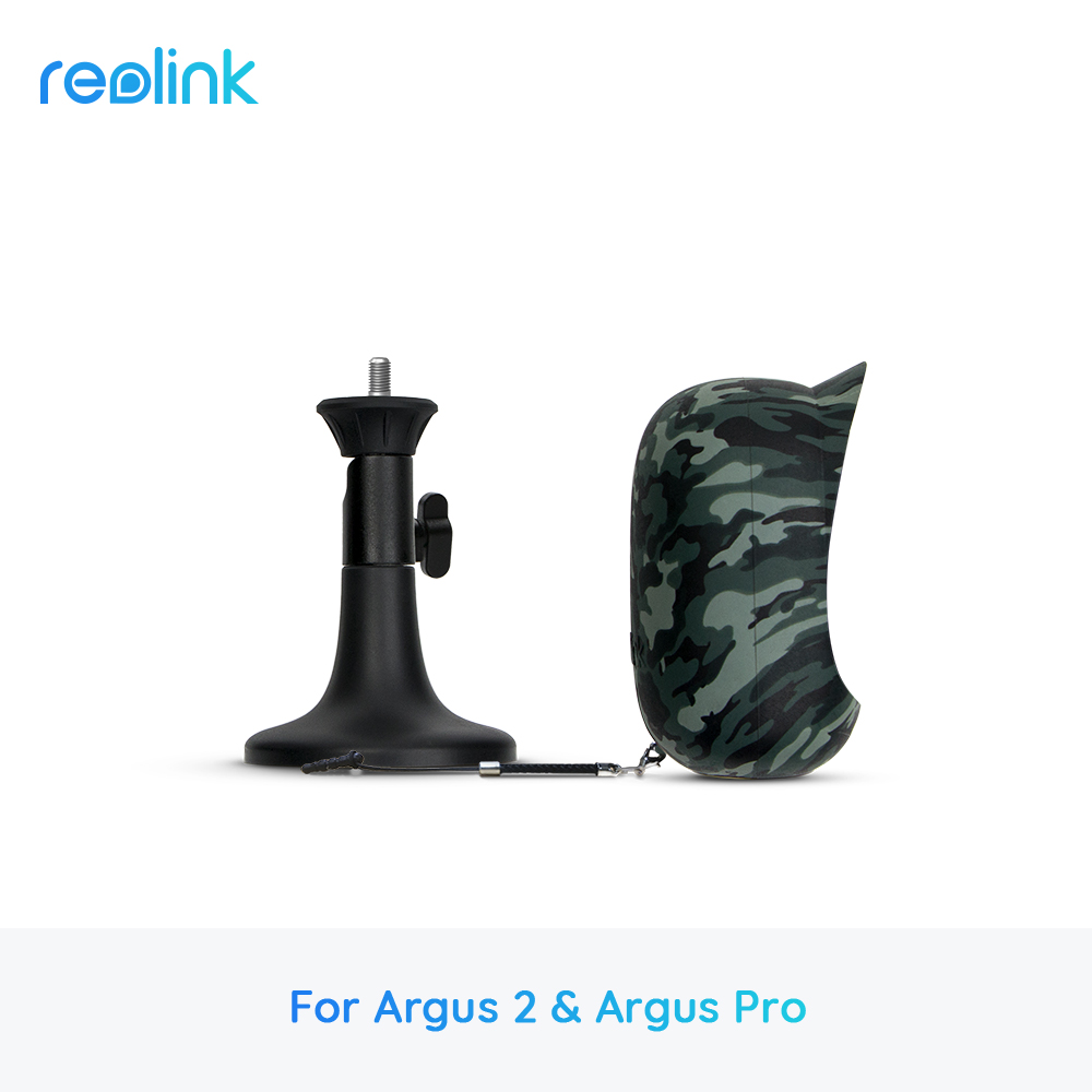Reolink Argus 2 and Argus Pro Wire-Free Rechargeable Battery Powered Security IP Camera Camouflage Skin Suit Not for Argus