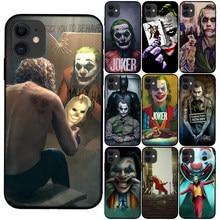 Mroczny rycerz krzemu skrzynka dla iPhone X XS Max XR 6 6S 7 8 Plus SE 5S Joker Karta film miękka pokrywa dla Coque iPhone 12 11 Pro Max