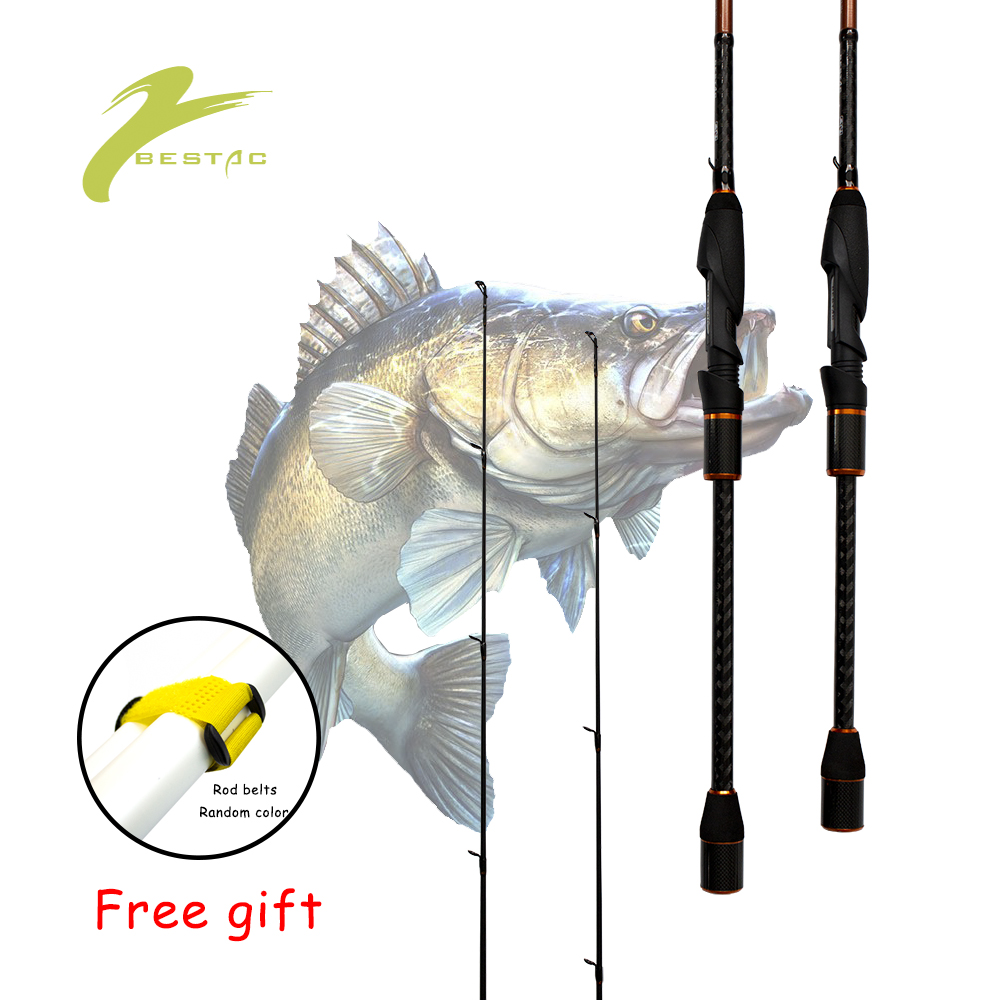 X-ZANDERMASTER Fishing Spinning Rod Spinner Zander Pike Perch Bass Tackle 2 Sections Lure 3-21g Medium Light Fast Stick BESTAC