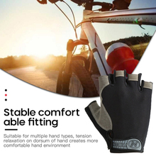 1 Pair Cycling Gloves Half Finger Gloves Breathable Bicycle Gloves MTB Mountain Bike Riding Gloves Outdoor Anti-slip Gloves cheap CN(Origin) Cotton Universal Washable