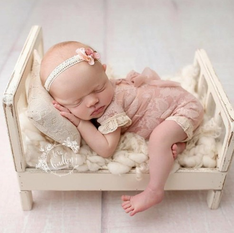 Baby Wooden Cribs Photography Props,baby Basket Bowl Photography Props