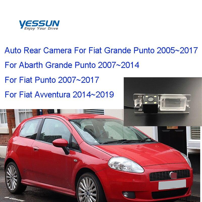 Yessun Car Rear View Camera HD Night Vision Reverse Camera For Fiat Grande Punto 188 Punto EVO 2005~2018 Reverse Camera Backup