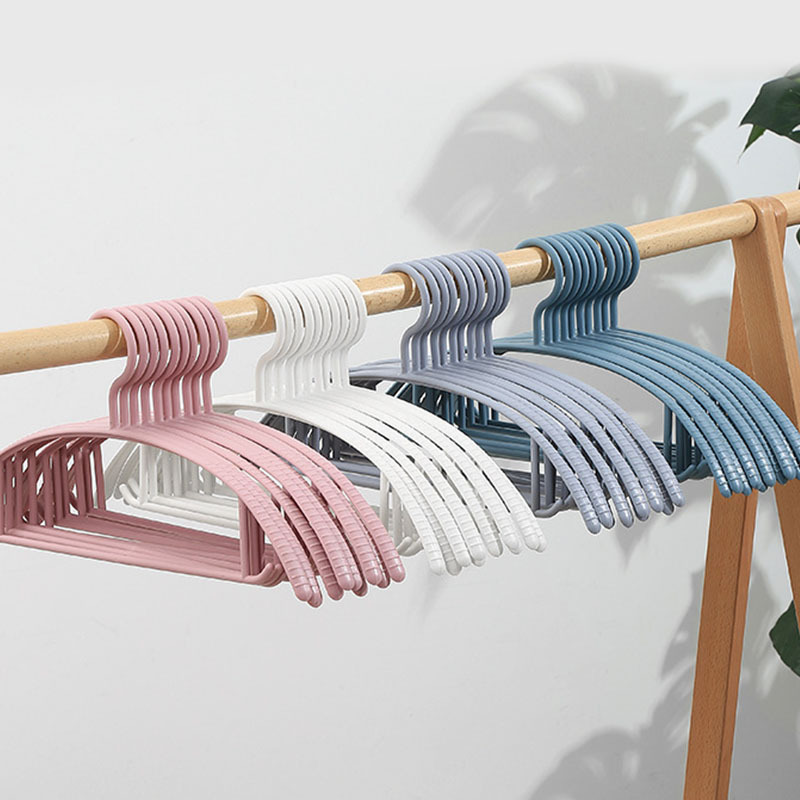 1 шт./компл. не скользит, не оставляющая следов вешалки Органайзер вешалка для одежды бытовой взрослых пластиковые вешалки для одежды