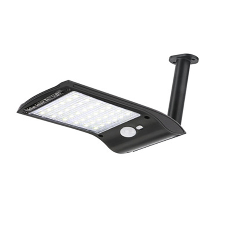 Outdoor Solar Wall Light with 180 Degree Rotating Struts in 3 Sensor modes for Stair and Garden Pathway 15