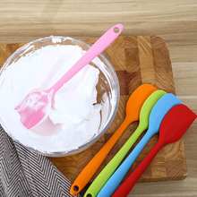 1Pcs Pastry Tools Silicone Spatula Baking Scraper Cream Butter Handled Cake Cooking Brushes Kitchen Utensil