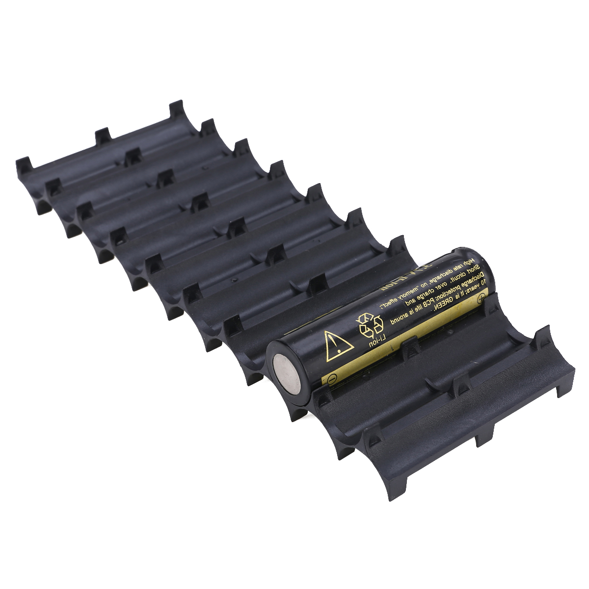 2pcs 10x <font><b>18650</b></font> <font><b>Battery</b></font> <font><b>Holder</b></font> <font><b>Cylindrical</b></font> <font><b>Battery</b></font> <font><b>Bracket</b></font> <font><b>18650</b></font> Case Cell <font><b>Holder</b></font> Li-ion Cell <font><b>Batteries</b></font> <font><b>Holders</b></font> image