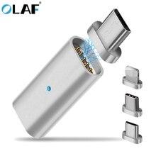 Олаф Mirco USB магнит с разъемом адаптер Micro USB для type-C для iPhone Mrico USB кабель для зарядного устройства магнитные адаптеры для мобильных телефонов