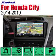 ZaiXi Android 2 Din Auto Radio For Honda City 2014~2019 Car Multimedia Player GPS Navigation System Stereo