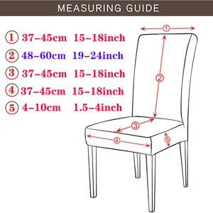 Image 2 - סופר רך קוטב צמר בד כיסוי כיסא אלסטי כיסא מכסה ספנדקס לחדר אוכל/חתונה/מטבח/מלון מסיבת משתה
