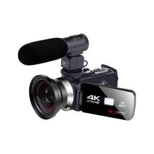 KOMERY Video-Camera Camcorder Night-Vision Handycam 4K 18X WIFI for Youbute LCD Touch-Screen